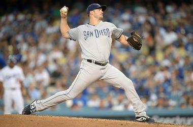 San Diego Padres starting pitcher Jacob Nix