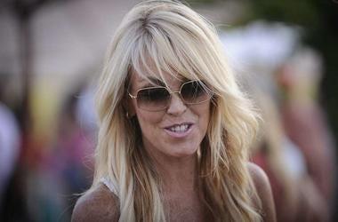 Dina Lohan, Sunglasses, Nathaniel Christan's Hamptons Ferrari Rally, 2011