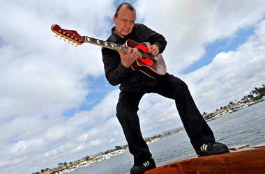Dick Dale, Guitar, Yacht, Newport Harbor, Lake, Water, 2009