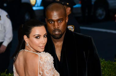 Kim Kardashian, Kanye West, Costume Institute Gala, The Metropolitan Museum of Art, 2015