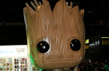 Marvel, Groot, Toy, Pop Funko