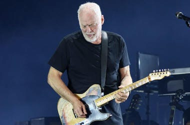 David Gilmour, Pink Floyd, Guitar, Solo, Concert, Madison Square Garden, 2016
