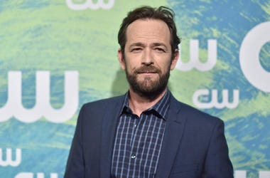 Luke Perry, Red Carpet, CW Upfront, 2016