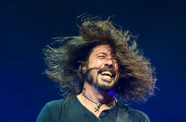 Dave Grohl, Hair, Headbang