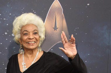Star Trek, Nichelle Nichols, Lt Uhura, Smiling