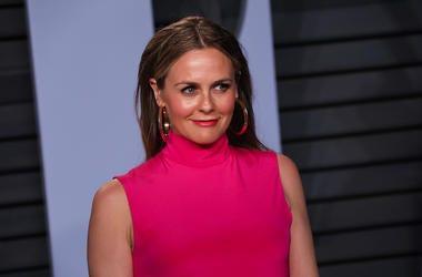Alicia Silverstone, Pink Dress, Red Carpet