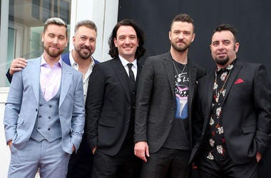 NSYNC, Lance Bass, Joey Fatone, JC Chasez, Justin Timberlake, Chris Kirkpatrick, Star, Hollywood, Walk of Fame