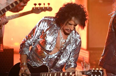 Joe Perry, Aerosmith, Concert, Guitar, MTV Video Music Awards, 2018