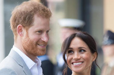 Prince Harry, Meghan Markle, Smile