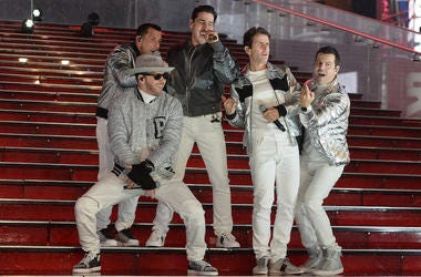 New Kids On The Block, Concert, Live, New Year's Eve 2019, Times Square