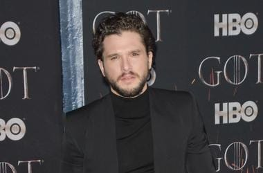 Kit Harington, Game of Thrones, Final Season, Premiere, Red Carpet, Black Suit, 2019