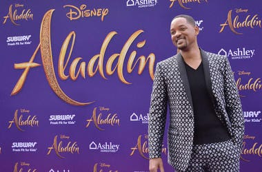 Will Smith, Aladdin, Premiere, Los Angeles, Red Carpet, Smile, 2019
