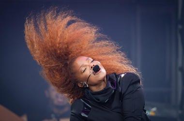 Janet Jackson, Pyramid Stage, Glastonbury Festival, Hair, 2019