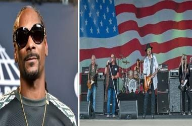 Snoop Dogg (Left), Lynyrd Skynyrd (Right)