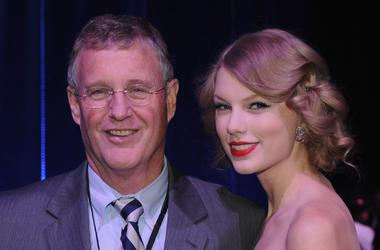 Scott Swift and Taylor Swift