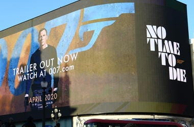 The trailer for the latest Bond film 'No Time to Die'