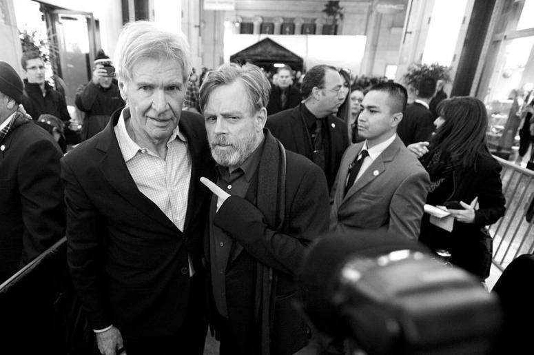 Mark Hamill & Harrison Ford