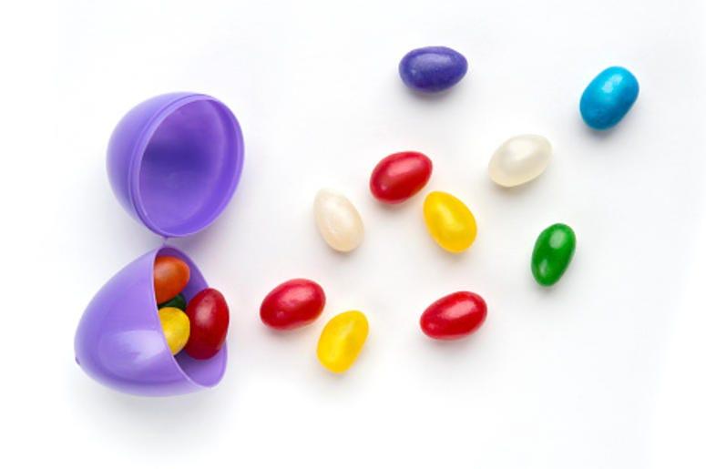 Jellybean Easter eggs