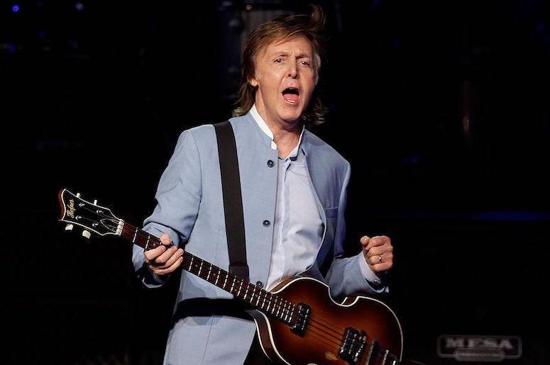 Paul McCartney, Concert, Bass, Marcus Amphitheater, Summerfest, 2019