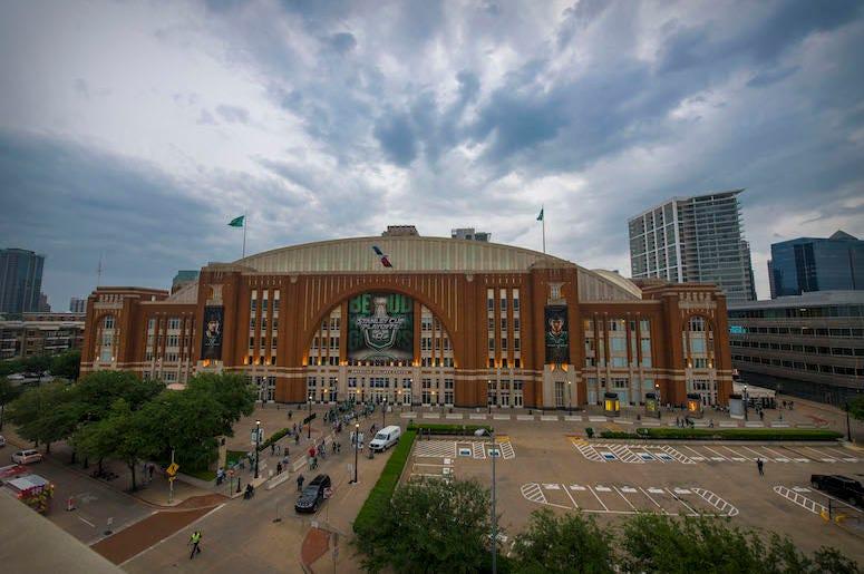 American Airlines Center, Exterior, Dallas Stars, Playoffs, 2019