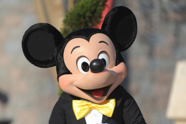 Mickey Mouse, Disneyland