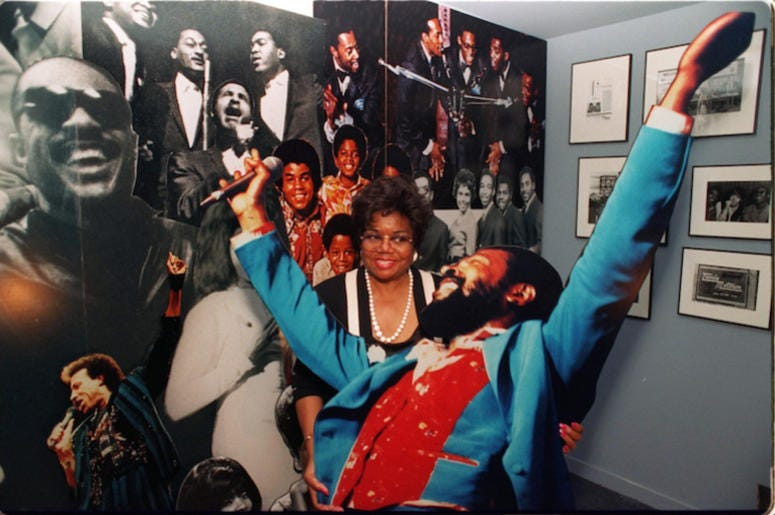 Esther Gordy Edwards, Motown Records, Marvin Gaye Cut Out, 2011