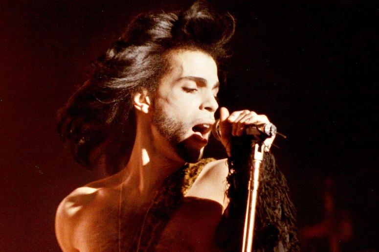 Prince, Benefit Concert, Singing, 1990