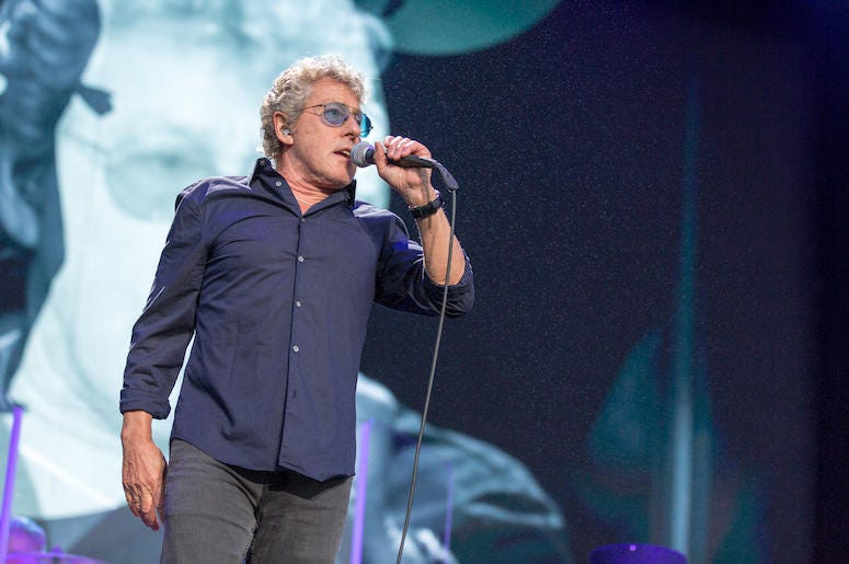 Roger Daltrey, The Who, Singing, Concert,  Outside Lands Music Festival, 2017