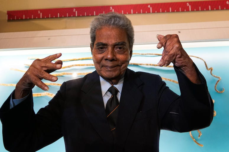 Shridhar Chillal, Longest Fingernails