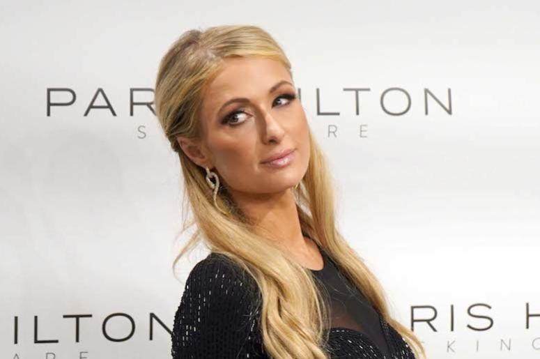 Paris Hilton, Skincare, Red Carpet, Milan, 2018