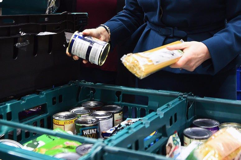 Food Bank, Cans, Volunteer, Hands, Sorting