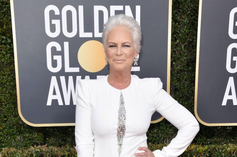 Jamie Lee Curtis, Red Carpet, Golden Globe Awards, 2019