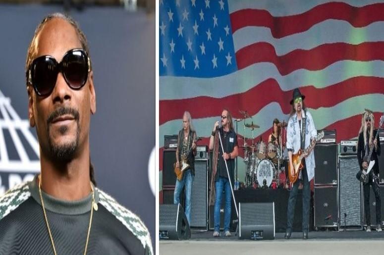 Snoop Dogg (Left), Lynyrd Skynyrd (Right)