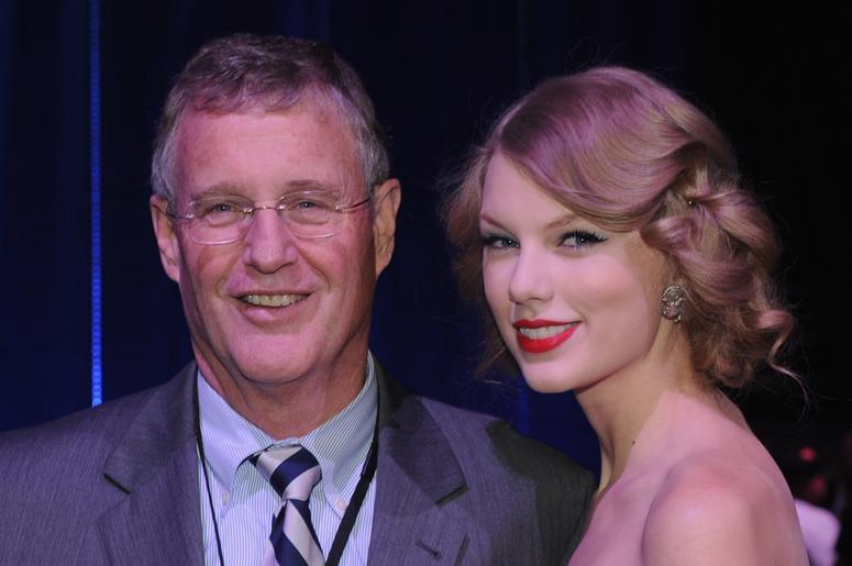 Scott Swift and Taylor Swift
