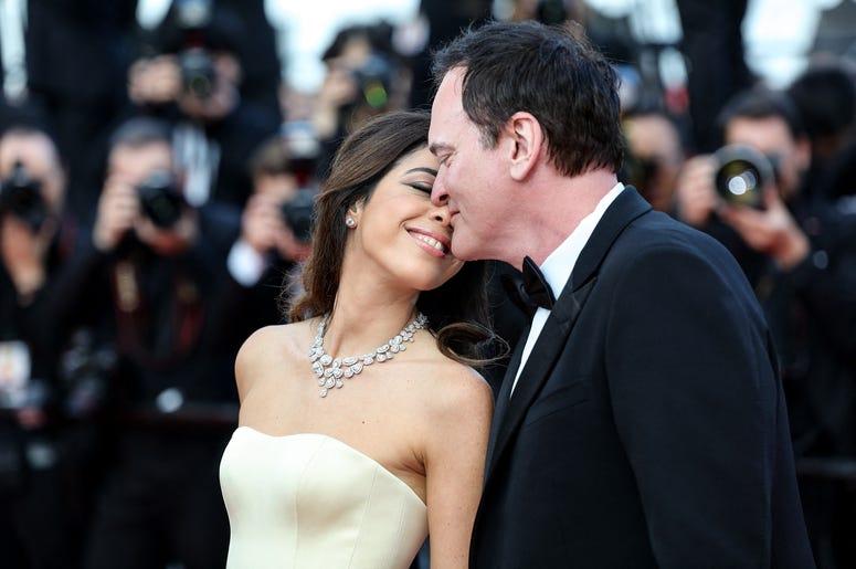 Daniella Pick and Quentin Tarantino