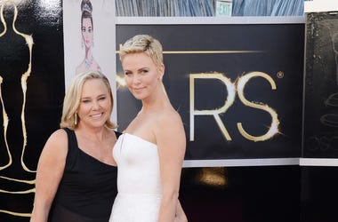 Charlize Theron and mom Gerda Maritz