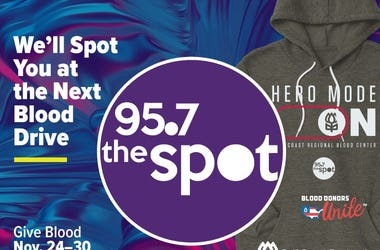 95.7 The Spot Blood Drive