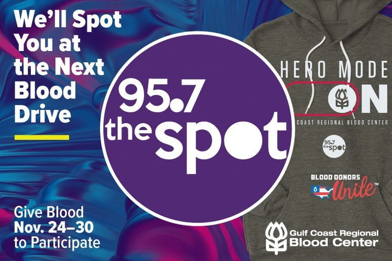 95.7 The Spot Blood Drive