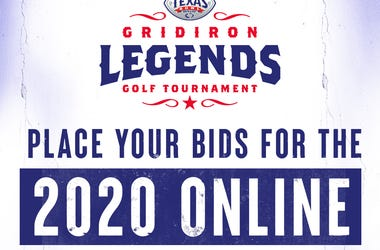 Texas Bowl Gridiron Legends Auction 2020