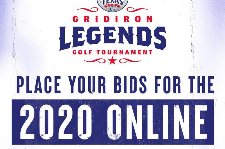 Texas Bowl Gridiron Legends Auction 2020