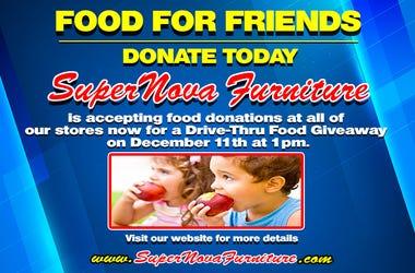 SuperNova Furniture Food For Friends