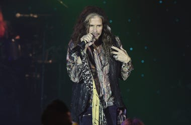 Steven Tyler at Muhammad Ali's Celebrity Fight Night XXIV at the JW Marriott Desert Ridge Resort & Spa on March 10, 2018 in Phoenix, Arizona