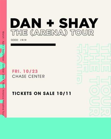 Dan + Shay at Chase Center