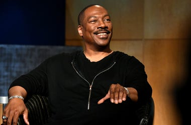 BEVERLY HILLS, CALIFORNIA - JULY 17: Eddie Murphy speaks onstage during the LA Tastemaker event for Comedians in Cars at The Paley Center for Media on July 17, 2019 in Beverly Hills City. (Photo by Emma McIntyre/Getty Images for Netflix)