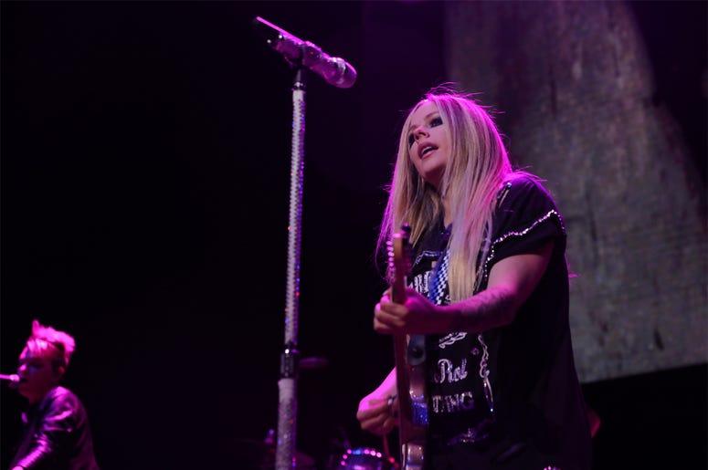 Avril Lavigne at Alice In Winterland 2019