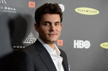 LOS ANGELES, CA - APRIL 18: Musician John Mayer arrives at the 28th Annual Rock and Roll Hall of Fame Induction Ceremony at Nokia Theatre L.A. Live on April 18, 2013 in Los Angeles, California. (Photo by Jason Merritt/Getty Images)