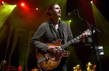 LAS VEGAS, NV - APRIL 09: Recording artist Andrew Hozier-Byrne of Hozier performs at The Chelsea at The Cosmopolitan of Las Vegas on April 9, 2015 in Las Vegas, Nevada. (Photo by Ethan Miller/Getty Images)
