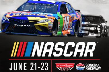 NASCAR Toyota/Savemart 350 at Sonoma Raceway 2019