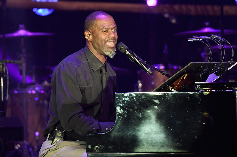 PHOENIX, AZ - MARCH 18: Recording artist Brian McKnight performs onstage during Muhammad Ali's Celebrity Fight Night XXIII at the JW Marriott Desert Ridge Resort & Spa on March 18, 2017 in Phoenix, Arizona. (Photo by Ethan Miller/Getty Images for Celebrit