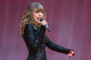 In this June 22, 2018, file photo, singer Taylor Swift performs on stage in concert at Wembley Stadium in London. Swift posted on Instagram Sunday, Oct. 7, that she's voting for Tennessee's Democratic Senate candidate Phil Bredesen, breaking her long-stan